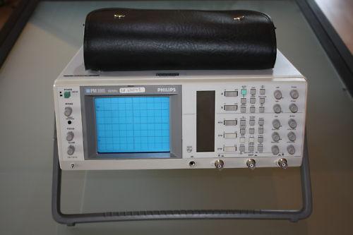 OszilloskopPhilipsFLUKE PM3065 100MHz 2 Kanal Oszilloskop